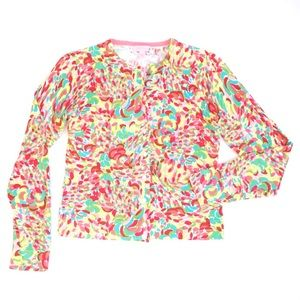 Lilly Pulitzer Sweaters - Lilly Pulitzer Printed Cardigan