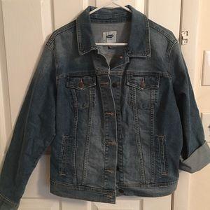 NWT Old Navy denim jacket. Size XL