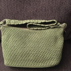 The Sak Handbags - The Sak Light Green Crochet Purse Handbag