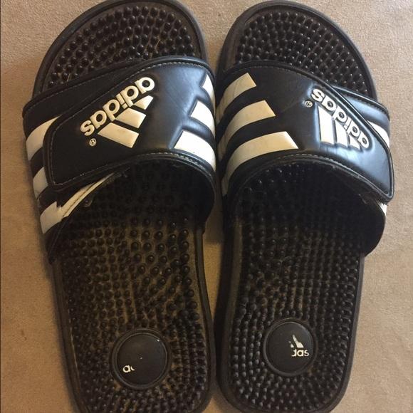 f7d9778e334b Adidas Shoes - Adidas Slides Size 5
