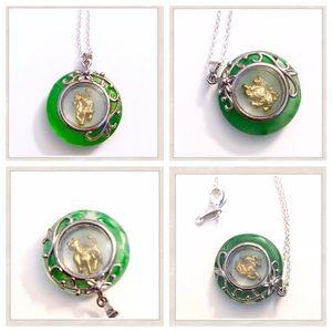 Chinese Zodiac Symbol Necklaces, Vintage
