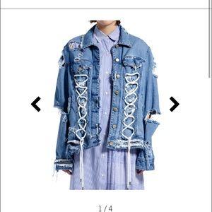 Public School Jackets & Blazers - NWTs Public School Gwenda Denim Jacket XS