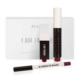 Realher Other - Dark Red Lipkit