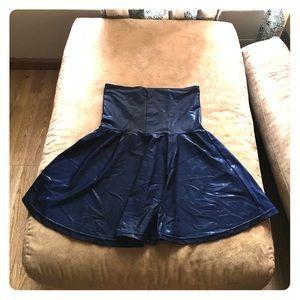 American Apparel Dresses & Skirts - American Apparel Midnight Blue High-Waist Skirt