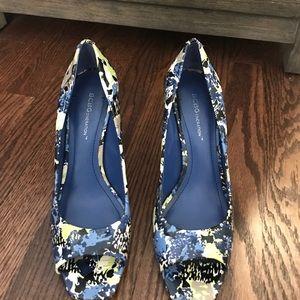 BCBGeneration Shoes - BCBG floral heels