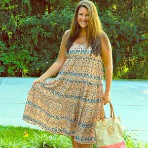 Forever 21 Dresses & Skirts - F21 Spaghetti Strap Midi Dress