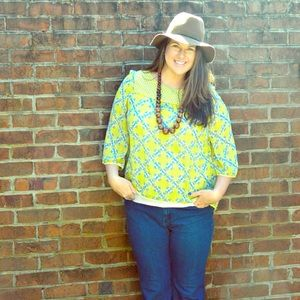 Umgee Tops - Umgee Yellow Top- Perfect for Spring and Summer