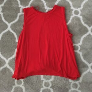 1. state Tops - 1. State open back tank
