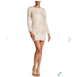 Dress the Population Dresses & Skirts - Chic & Classy Sequin Sheath Mini Dress