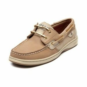 Sperry Top-Sider Shoes - Sperry Topsider bluefish tan and gold