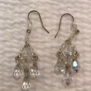 Jewelry - Crystal earrings from Nordstrom