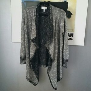 14th & Union Sweaters - 🐼Black and White Flowy Cardigan🐼