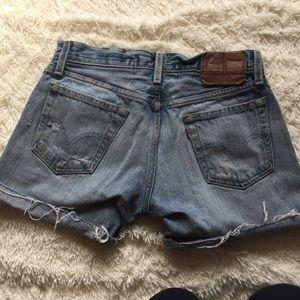 Levi's Pants - Levi high waisted shorts Sz 29W