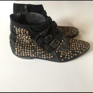 Modern Vice Shoes - Modern Vice studded Jet boot - rare !