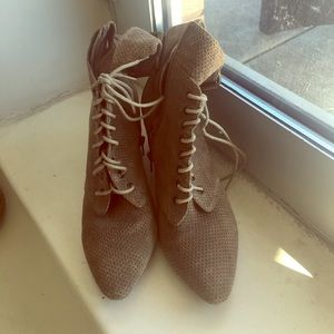 light grey ankle boot