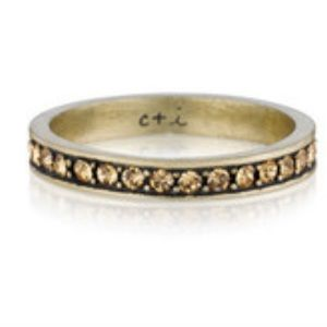 Chloe + Isabel Jewelry - Topaz Pavé Stacking Ring