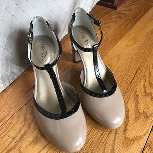 me too Shoes - NWOT! Me Too Nude Heels