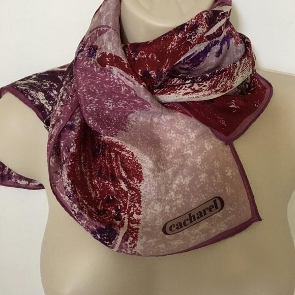 e237e77791 Cacharel Accessories | Vintage Silk Scarf | Poshmark