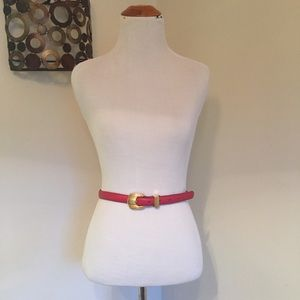 Accessories - Red vintage like belt