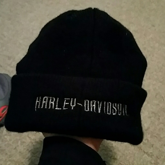 45b6fddd921dd Harley-Davidson Other - Harley Davidson billed beanie winter hat