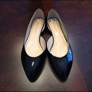 Adrienne Vittadini Shoes - Very good UC! Black patent flats, 7.5