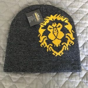 World of Warcraft Other - NWT - Reversible War of Warcraft Beanie Hat