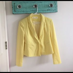 Jackets & Blazers - yellow blazer