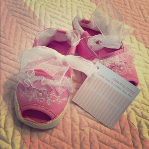 First Impressions Other - First Impressions Baby Girl Espadrilles/Sandals
