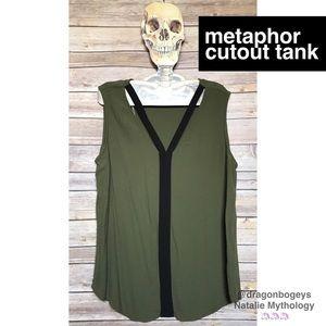 Metaphor Tops - Metaphor Cutout Tank