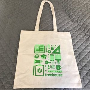 Handbags - Eric Smith Treehouse Cotton Tote Bag