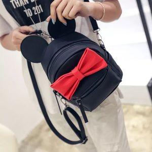 Handbags - Minnie Mouse Black & Red Mini Backpack 😍