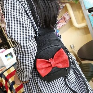 Handbags - Minnie Mouse Black&Red Mini Backpack 😍