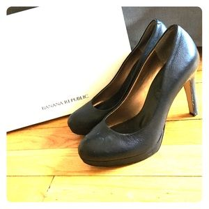 Banana Republic Shoes - Banana Republic Black Pumps