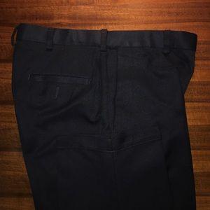 Haggar Other - Navy flat front dress pants 32x32