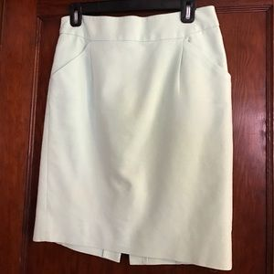 J.Crew Mint Green Pencil Skirt