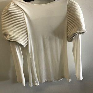 Gracia Tops - Puff Shoulder Top