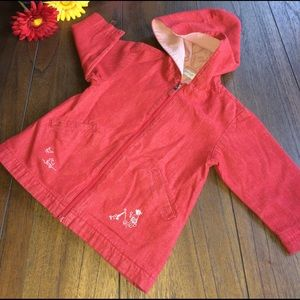 Jacadi Other - Jacadi Seersucker Lined Red Denim Jacket