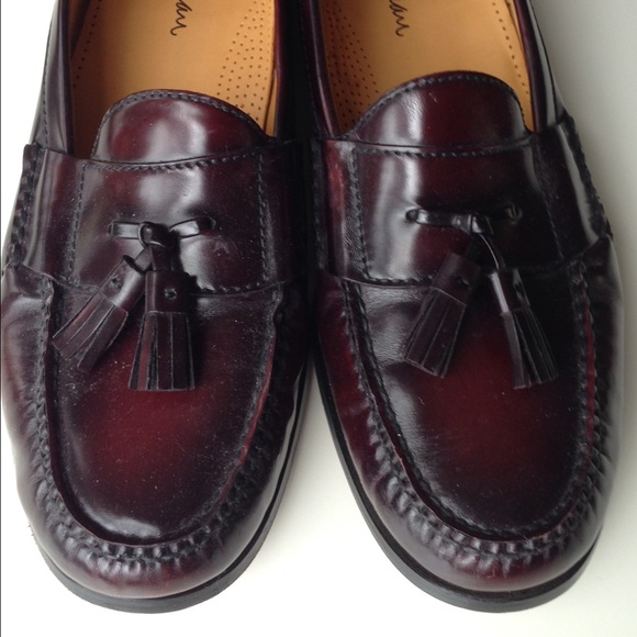 6f5ea4f7dc3 Cole Haan Other - Cole Haan Mahogany Pinch Tassel Loafer