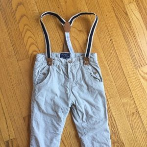 Mayoral Other - Mayoral baby 24M pants with detachable suspenders