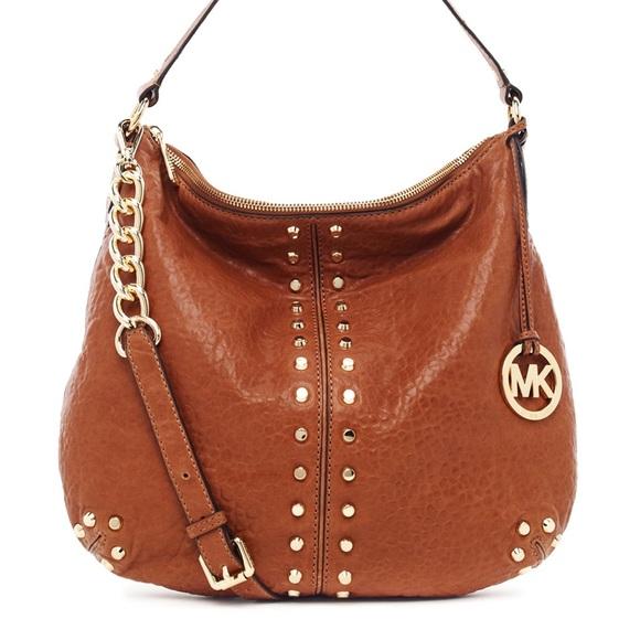 42d09eebbac0 Michael Kors brown uptown Astor large shoulder bag.  M_58ea30e82fd0b728b302dfa7