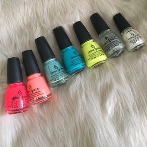 China Glaze Nail Polish Bundle