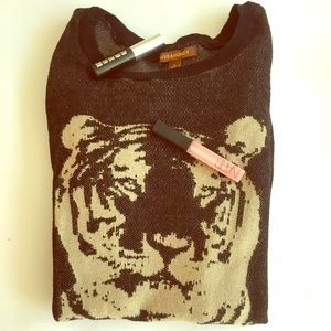 Hive & Honey Sweaters - HIVE AND HONEY TIGER SWEATER