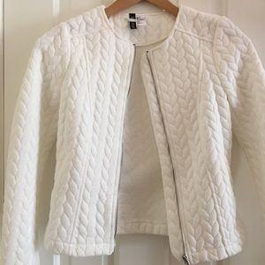 H&M Jackets & Blazers - NWOT  Fresh white jacket