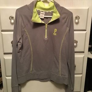 PINK half zip sweatshirt from Victoria Secret