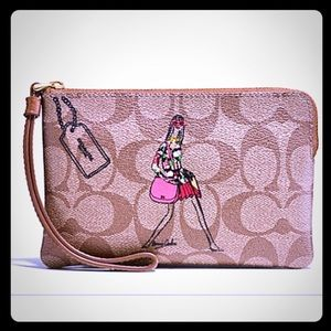 Coach Handbags - SALE--COACH BONNIE CASHIN CORNER ZIP WRISTLET