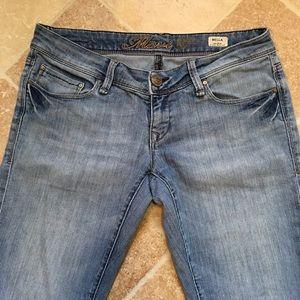 Mavi Denim - Mavi Bella Low-Rise Skinny Boot Cut Jeans 28/32