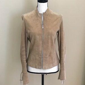 Jackets & Blazers - Suede Moto Jacket