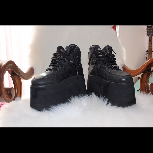 Buffalo Platform Boots Spice Girl