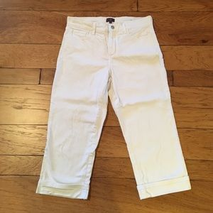 NYDJ Denim - Not Your Daughters Jeans NYDJ white cuffed jean 12