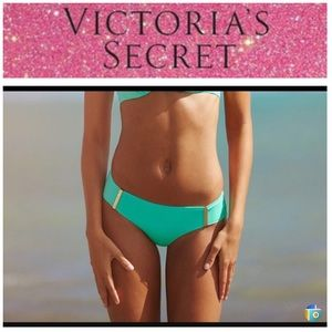 Like new VS hipster bikini bottom,aqua size small